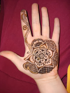 Eid kids mehndi designs 2013