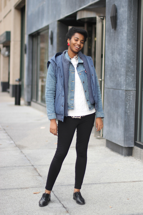 On Refinery29 Jordan Lots Of Layers Amy Creyer 39 S Chicago Street Style Fashion Blog