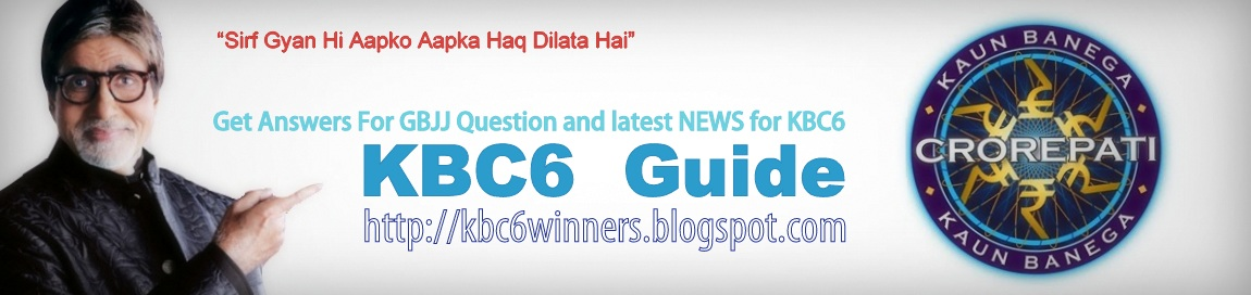 A guide to win in KBC 6