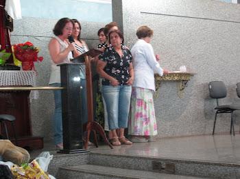 Catequistas são homenageadas