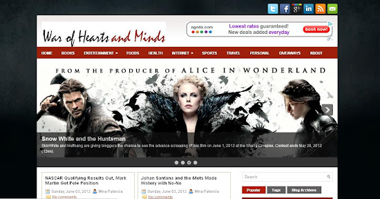 War of Hearts and Minds New Design and New Domain
