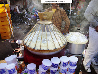 Makhan Malai in Lucknow