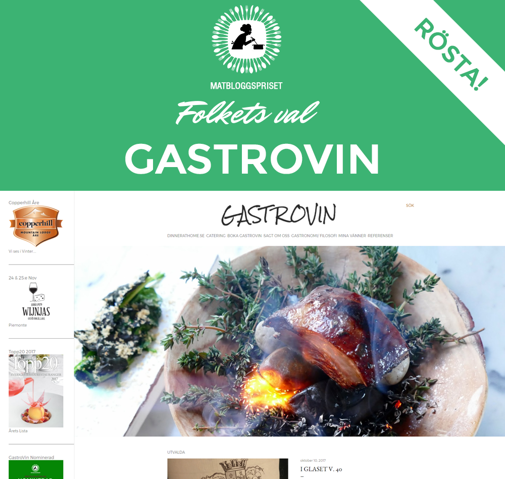 GastroVin Nominerad
