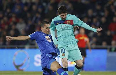 Getafe 1 - 0 Barcelona (1)