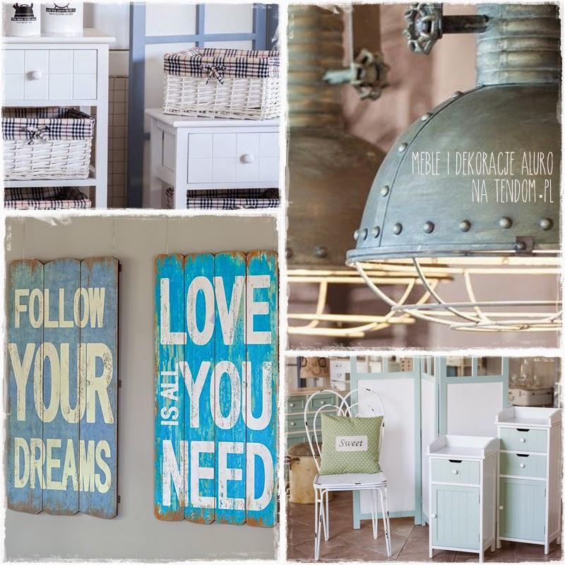 Loft, vintage, country... czyli ciekawy mix różności