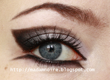 Go Over The Eyeliner Pencil With Black Eyeshadow To Set It Line Upper Lash Gel Liner Step 7 Apply