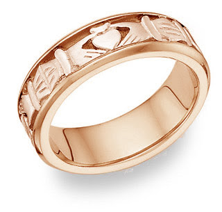 gold wedding rings for men