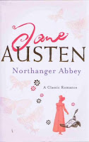Headline edition book cover of Northanger Abbey by Jane Austen