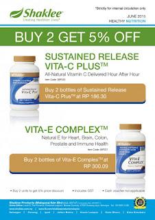 Klik di sini untuk maklumat lanjut mengenai Vitamin E SHAKLEE
