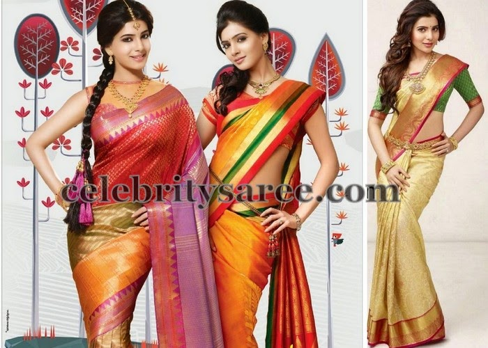 Samantha Bridal Sarees Collection