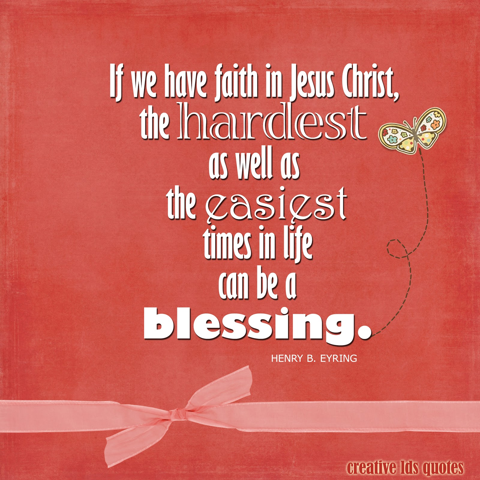 Lds Quotes On Blessings. QuotesGram Faith Quotes Lds