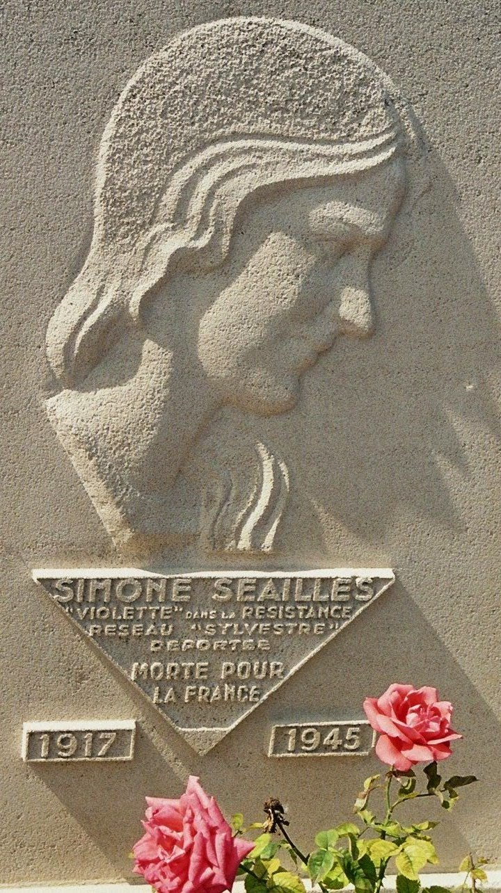 Portrait de Simone Séailles par Jan et Joel Martel