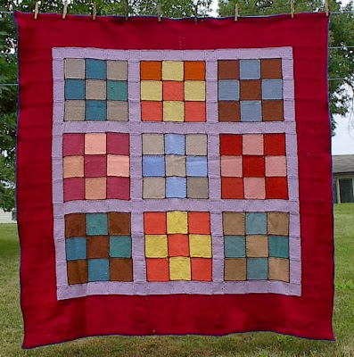 9 Square Afghan