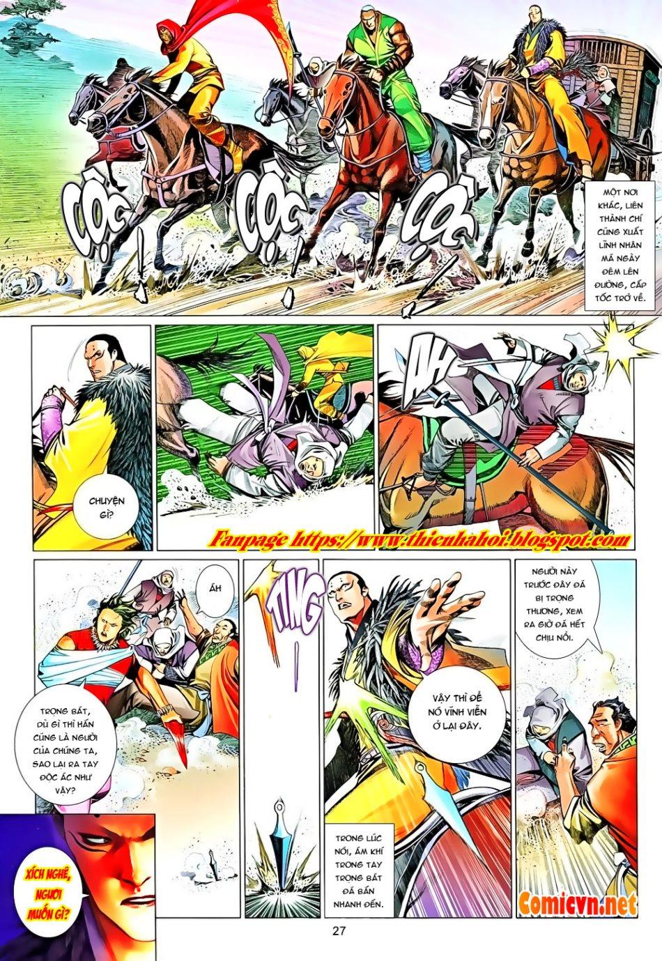 Phong Vân chap 650 Trang 27 - Mangak.info
