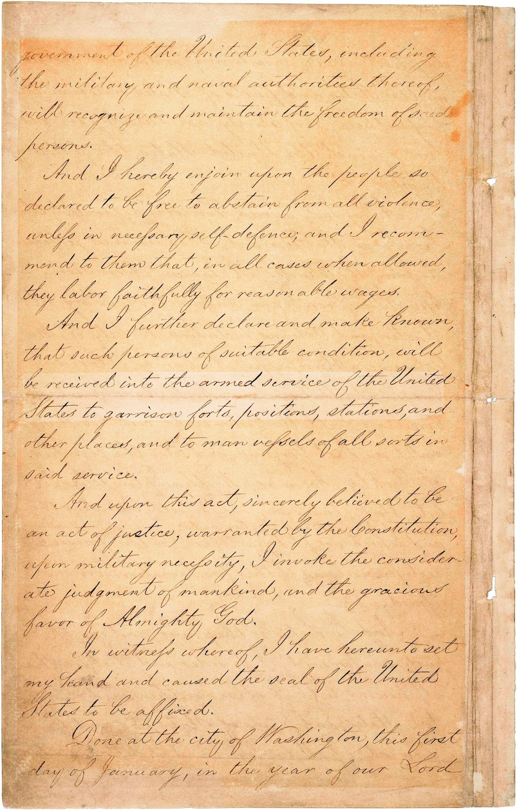 handwriting lessons teach emancipation proclamation