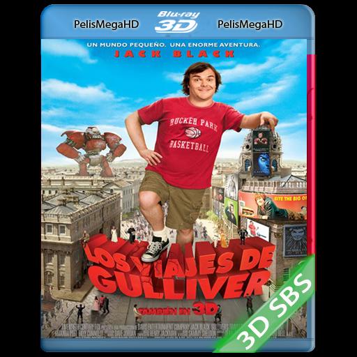 LOS VIAJES DE GULLIVER (2010) 3D SBS 1080P HD MKV ESPAÑOL LATINO