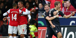 inovLy media : Prediksi Arsenal vs Bayern Munchen (20 Februari 2013) | Liga Champios