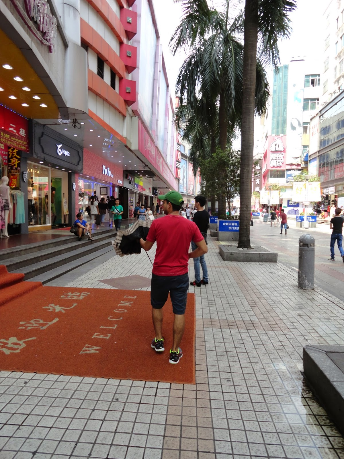 DongMen Shopping Streets, ShenZhen, China