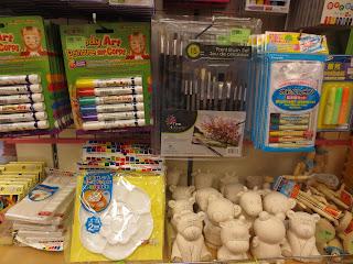 Daiso art supplies