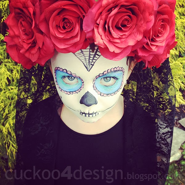 sugar skull costume by Cuckoo4Design