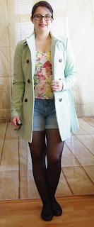 Outfit Mint Coat