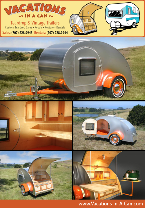 Vacations In A Can Teardrop Trailers