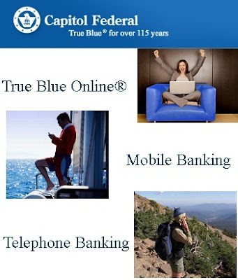 Login on Capfed.com to Manage True Blue Online Banking Account