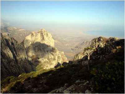 Muntii din Socotra