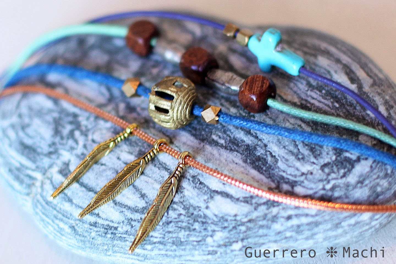 4 layered charm bracelet
