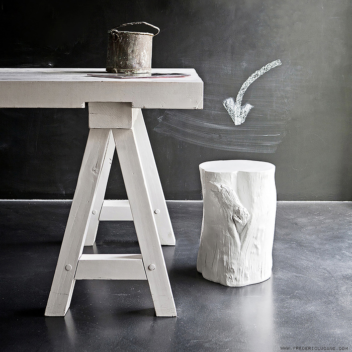 raw white table photography Frederic Lucano