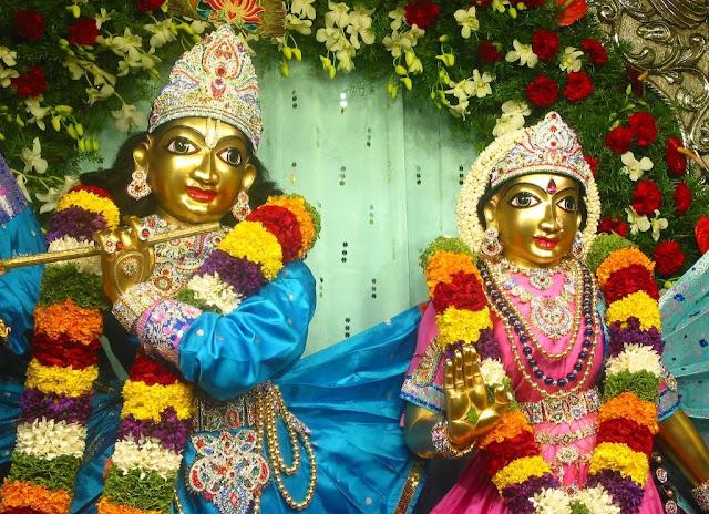 Lord Krishna & Rukmani
