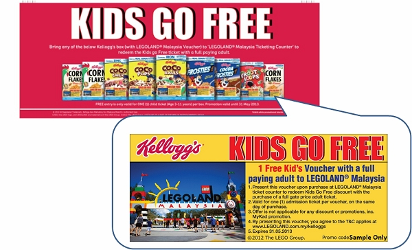 Legoland Kids Go Free Promotions
