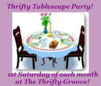 Thrifty Tablescape Party!