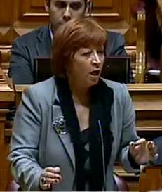 Mariana Aiveca; Governo quer os pobres contra os pobres; Governo; Política; Parlamento; Esquerda; Bloco;
