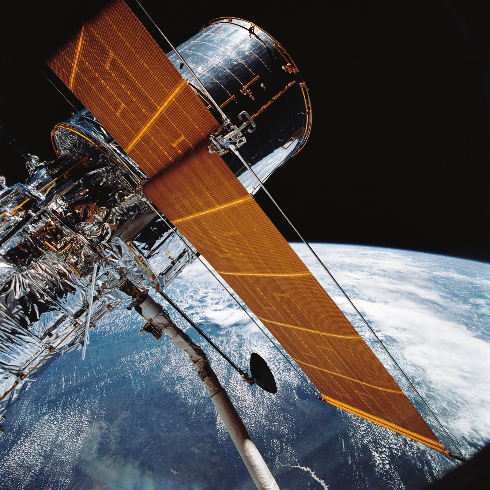 WHEN HUBBLE SPACE TELESCOPE WAS YOUNG