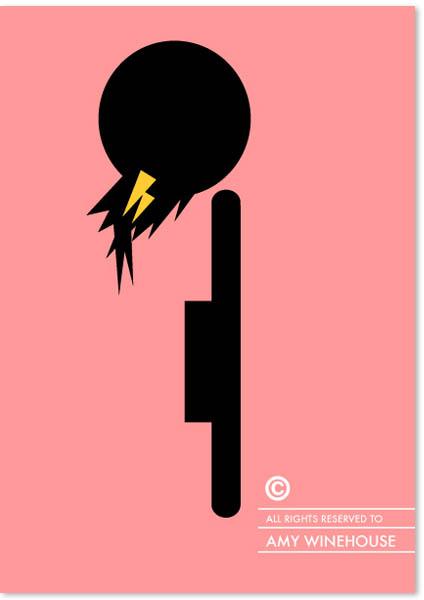 Penteados com copyright - Amy Winehouse