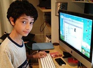 Adolescente de 12 anos cria aplicativo para calcular notas escolares