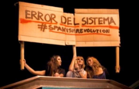 """Espanha rebelde: """"NEM POLÍTICOS, NEM BANQUEIROS"""""""