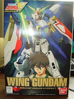 HG 1/144 Gundam Wing model kit