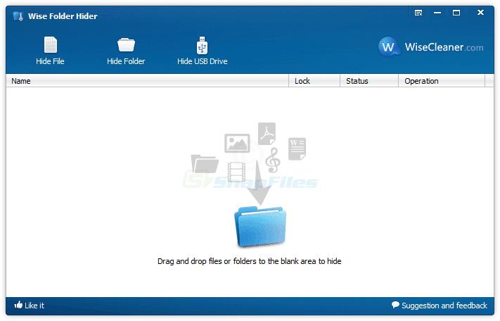 برنامج إخفاء الملفات و المجلدات المجانى الرائع Wise Folder Hider