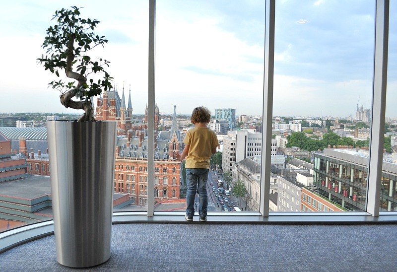 Windows Located On The Corner Of Building Give Optimum Panoramic View London With Iconic Landmarks Such As Shard And Gherkin Punctuating