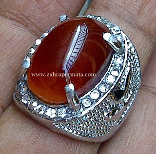Cincin Batu Permata Raflesia Bengkulu - ZP 326