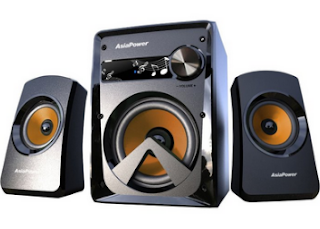 Buy AsiaPower 2.1 channel Multimedia Speakers at Rs. 559 only