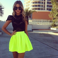 style file! neon green!