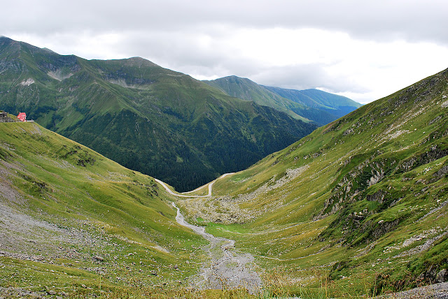Between clouds transfagarasan
