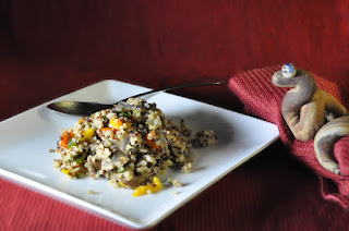 Recipe: Quinoa pilaf