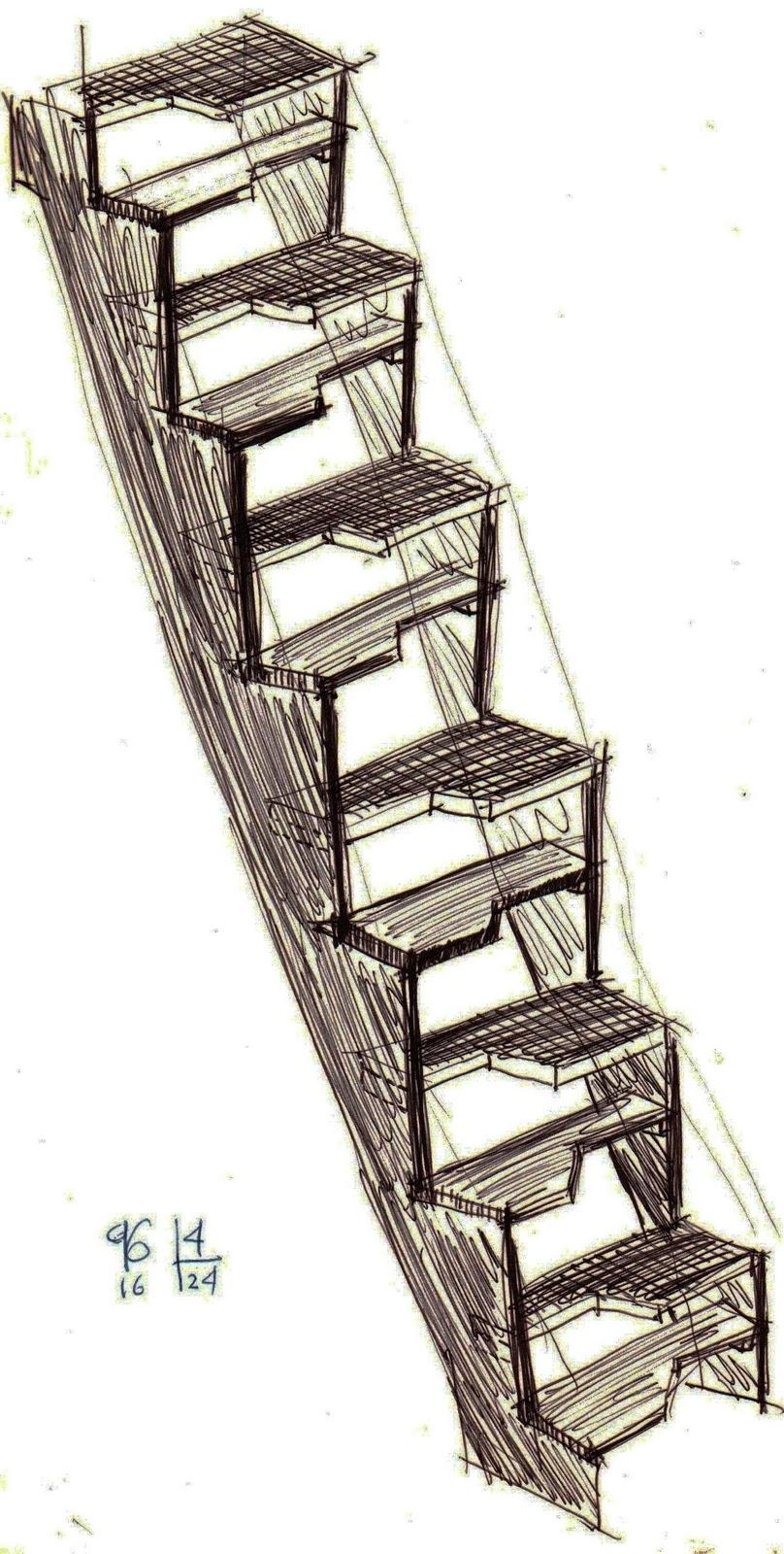 Mario v sconez ecuador 36 la escalera v sconez o c mo for Escalera 5 pasos afuera