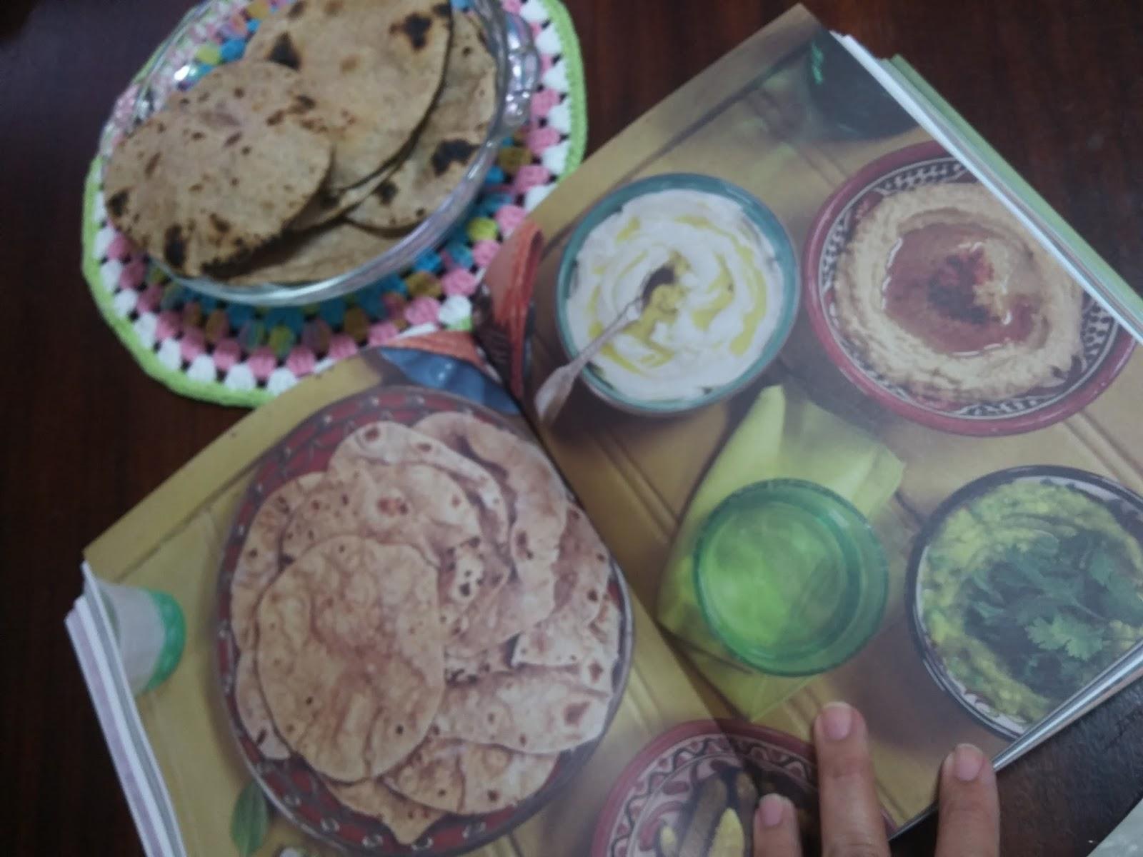 Chez Bebel: Pão Chapati. Uma maravilha para comer de joelhos