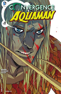 Cover of Convergence: Aquaman #2 from DC Comics