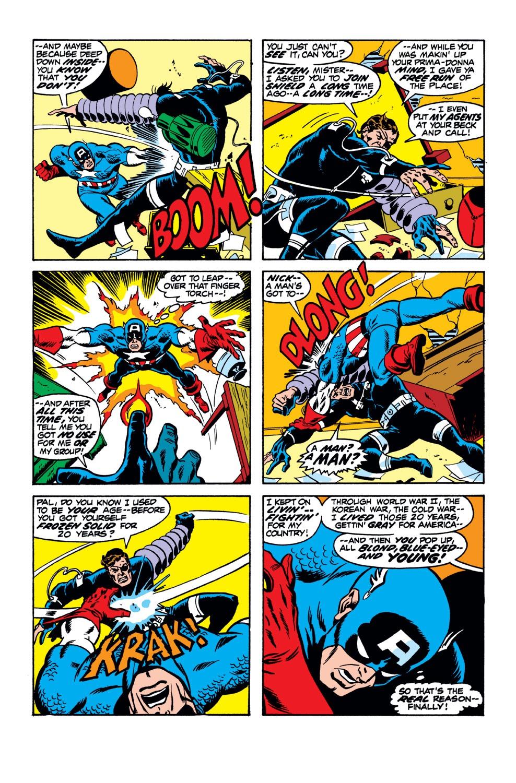 Captain America (1968) Issue #153 #67 - English 8